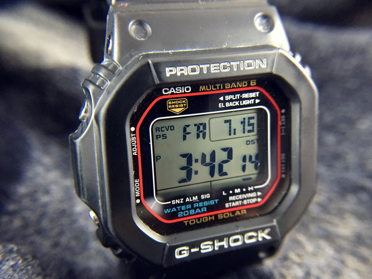 Casio G-Shock GWM5610 Atomic Solar: Hands-On Review — 60Clicks