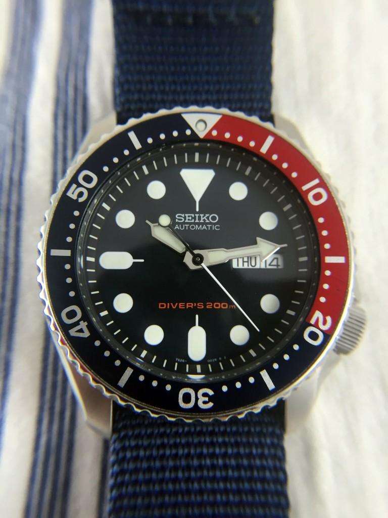 Seiko skx009 diver video review 60clicks - Seiko dive watch history ...