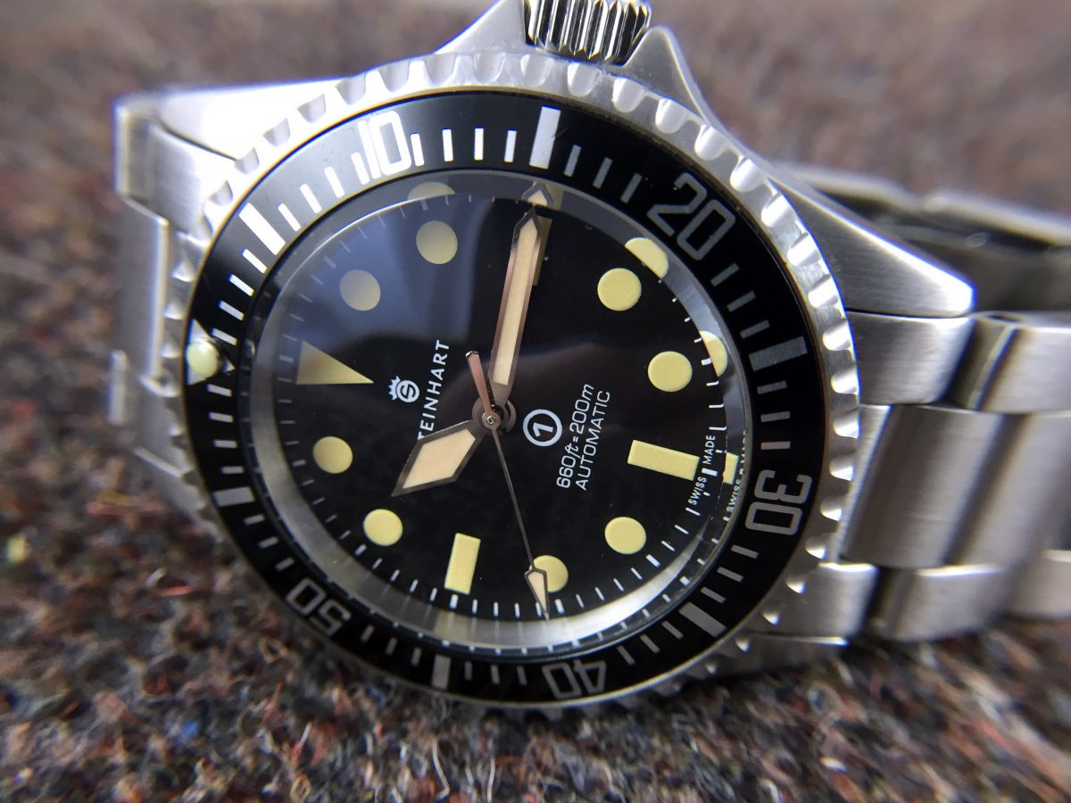 Steinhart Ocean Vintage Military: Hands-On Review — 60Clicks