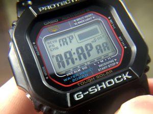 Casio G-Shock LCD Display Test Mode