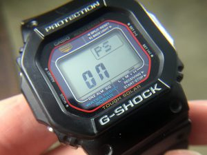 Casio G-Shock Power Saving Mode