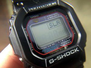 Casio G-Shock Solar Sensor Diagnostic Mode