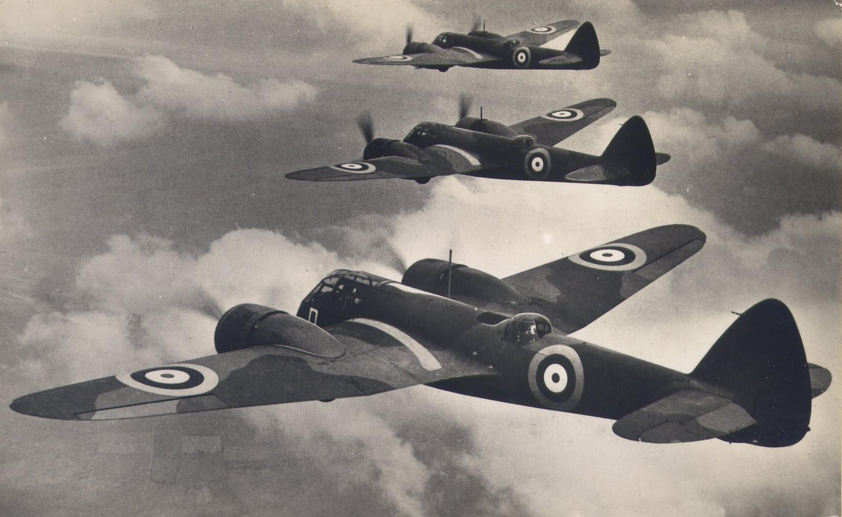 Bristol Bleinheim MK1 Bombers