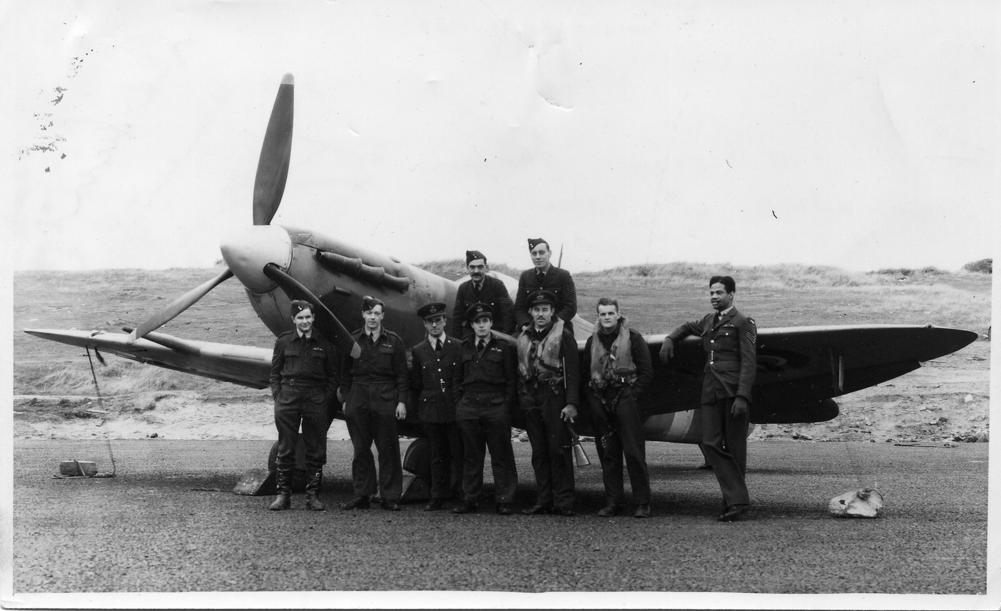 British Carribean Aircrew (RAF) during WW2