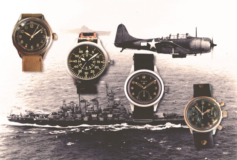 A brief guide to the iconic military watches of world war ii 60clicks - A brief guide to a durable roof ...