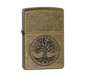"Zippo ""Tree of Life"" Lighter"