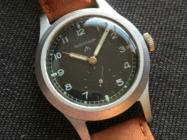 British WW2 W.W.W. Watch Produced by Jaeager LeCoultre