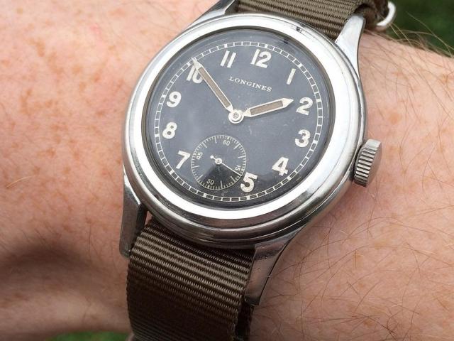 Longines Greenlander W.W.W. WW2 Watch