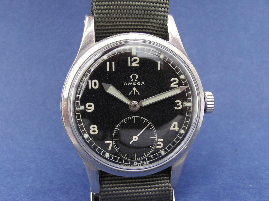 British WW2 W.W.W. Watch Produced by Omega