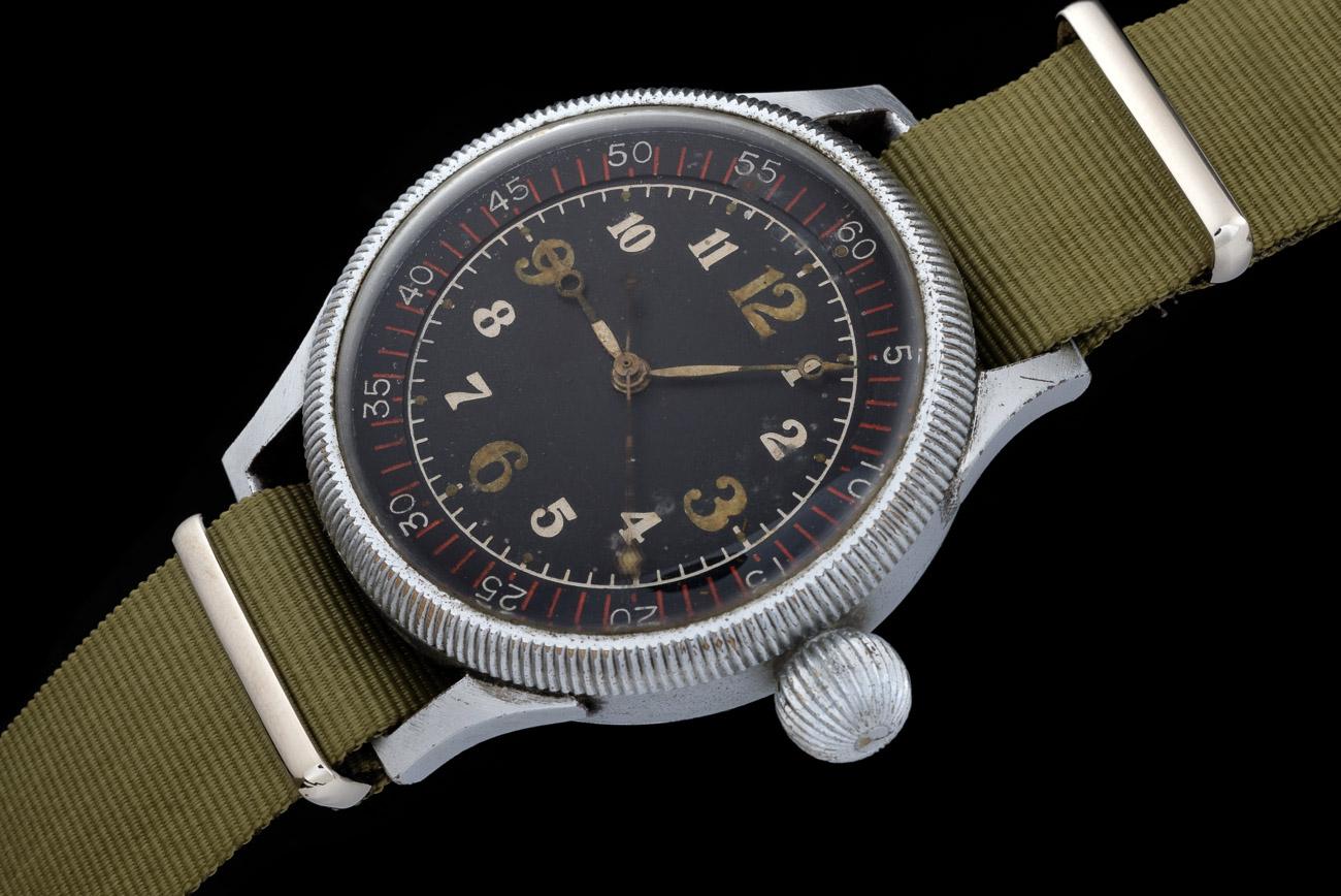 Seikosha Naval Aviators Watch on Olive NATO