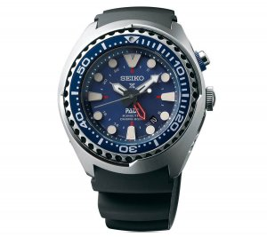 Seiko SUN065 GMT Kinetic Diver