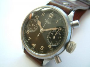 Hanhart Calibre 41 Pilot Chronograph from 1945