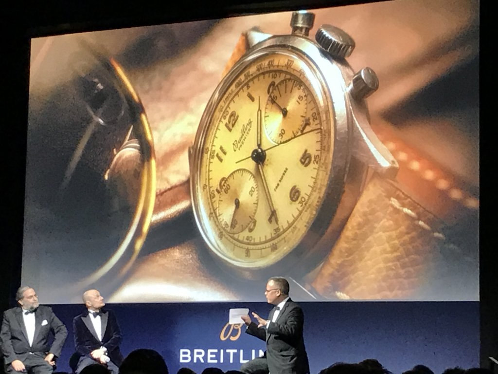 Live from the Breitling Navitimer 8 Launch Event